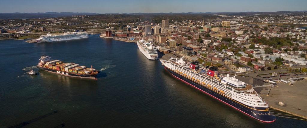 Saint John New Brunswick Canada - Port and City