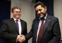 Dan Mullaney (US) and Ignacio Garcia Bercero (EU). Slugging it out in the 9th TTIP round.